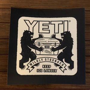 💥NWOT💥 Yeti Sticker